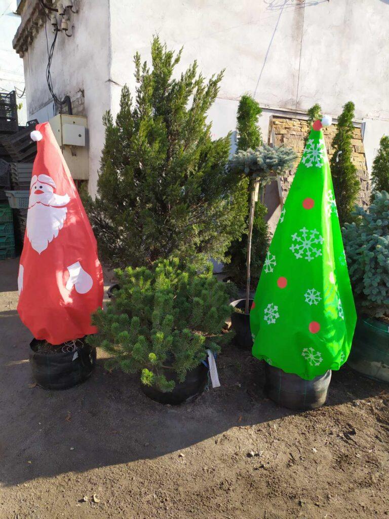 Чехол для зимнего укрытия растений