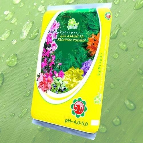 Субстрат кислый для азалий и хвойных растений