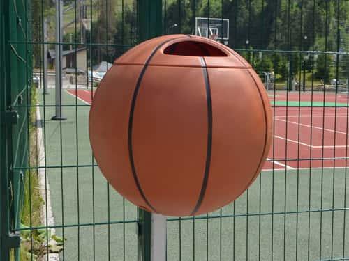 Урна для мусора Баскетбольный мяч